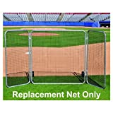 Jaypro Sports BLFSW-N Big League Fungo Screen with Net