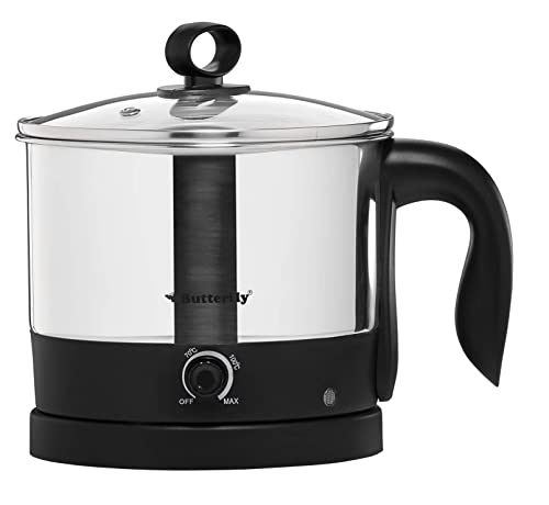 10. Butterfly Wave 1.2-Litre Multi Cooker (Silver with Black)