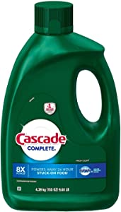 Cascade Complete Gel Dishwasher Detergent, Fresh Scent (155 oz.)