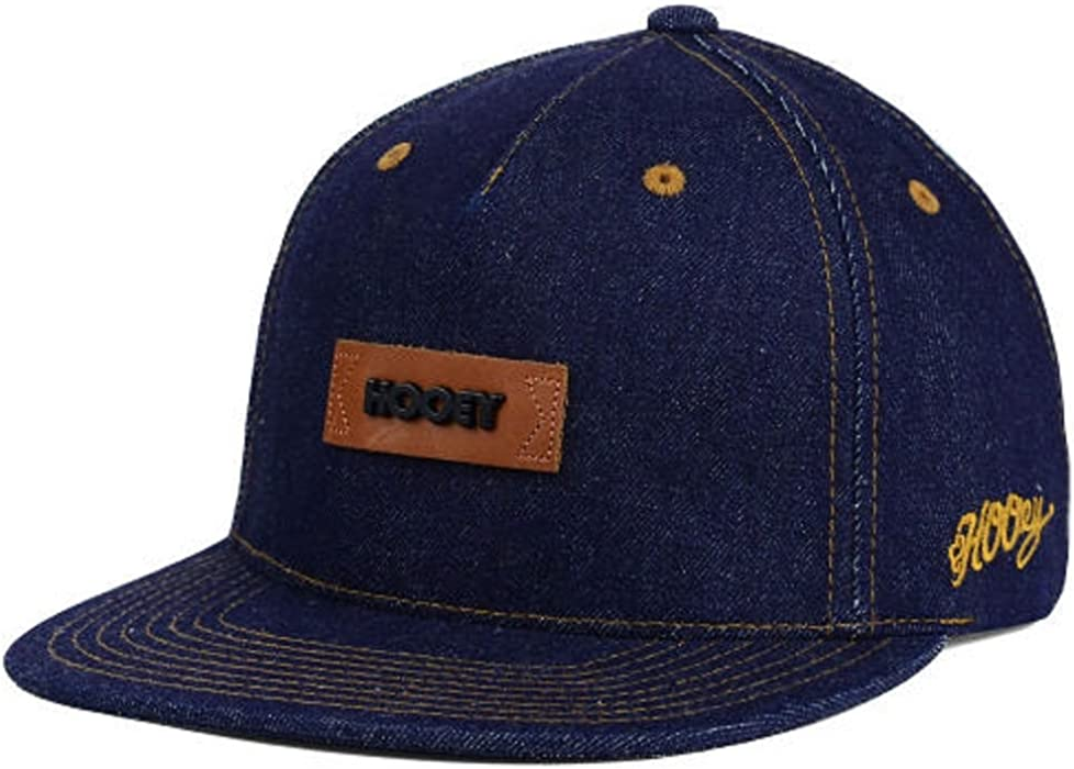 Amazon.com  HOOey Blue Denim Strapback Premium Brand Cap Hat  Clothing eeb9cc696ea