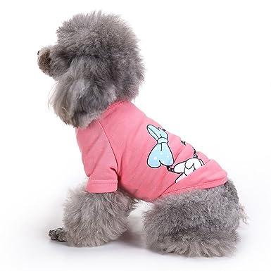 HongYu Chaleco para mascotas, abrigo de punto Mascota Ropa para perros pequeños Camiseta Protector de