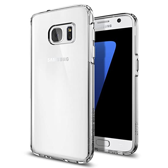 outlet store 34321 72bfe Spigen Ultra Hybrid Designed for Samsung Galaxy S7 Case (2016) - Crystal  Clear