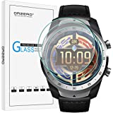 (3 Pack) Orzero Compatible for Ticwatch Pro 4G, Ticwatch Pro, Ticwatch Pro 2020 Smartwatch Tempered Glass Screen Protector, 2
