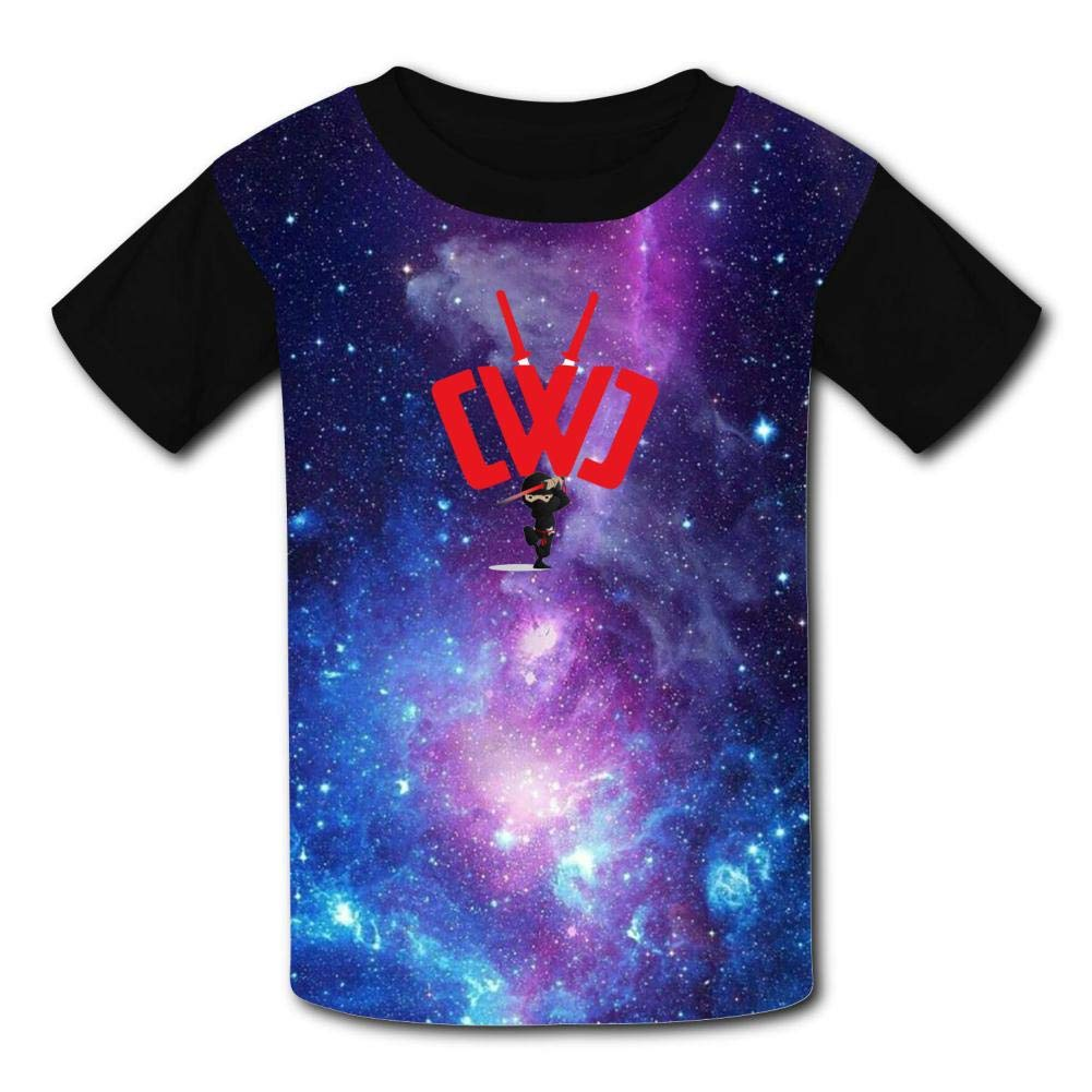 Boys Girls Kids Short Sleeve Summer Tees Tops GCASST Chad Wild Clay Ninja Printed Graphic T-Shirt