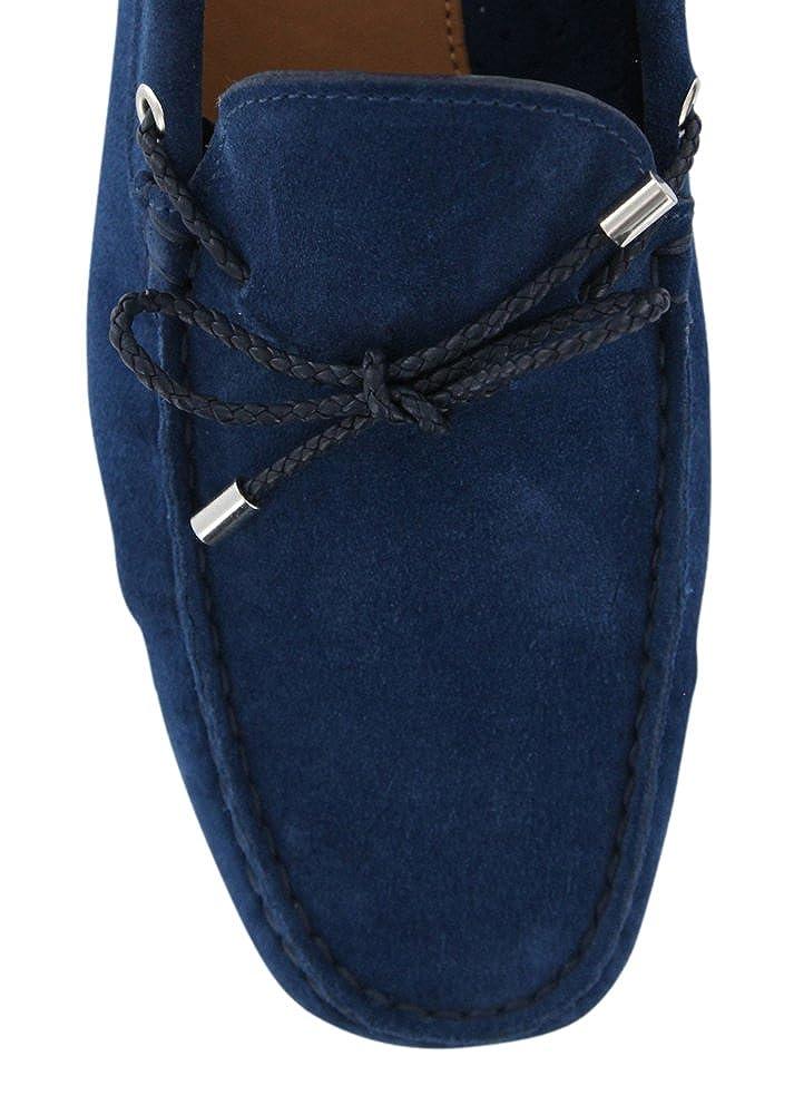 6d6b1743cfc8b Amazon.com: New Fiori Di Lusso Blue Suede Shoes: Clothing