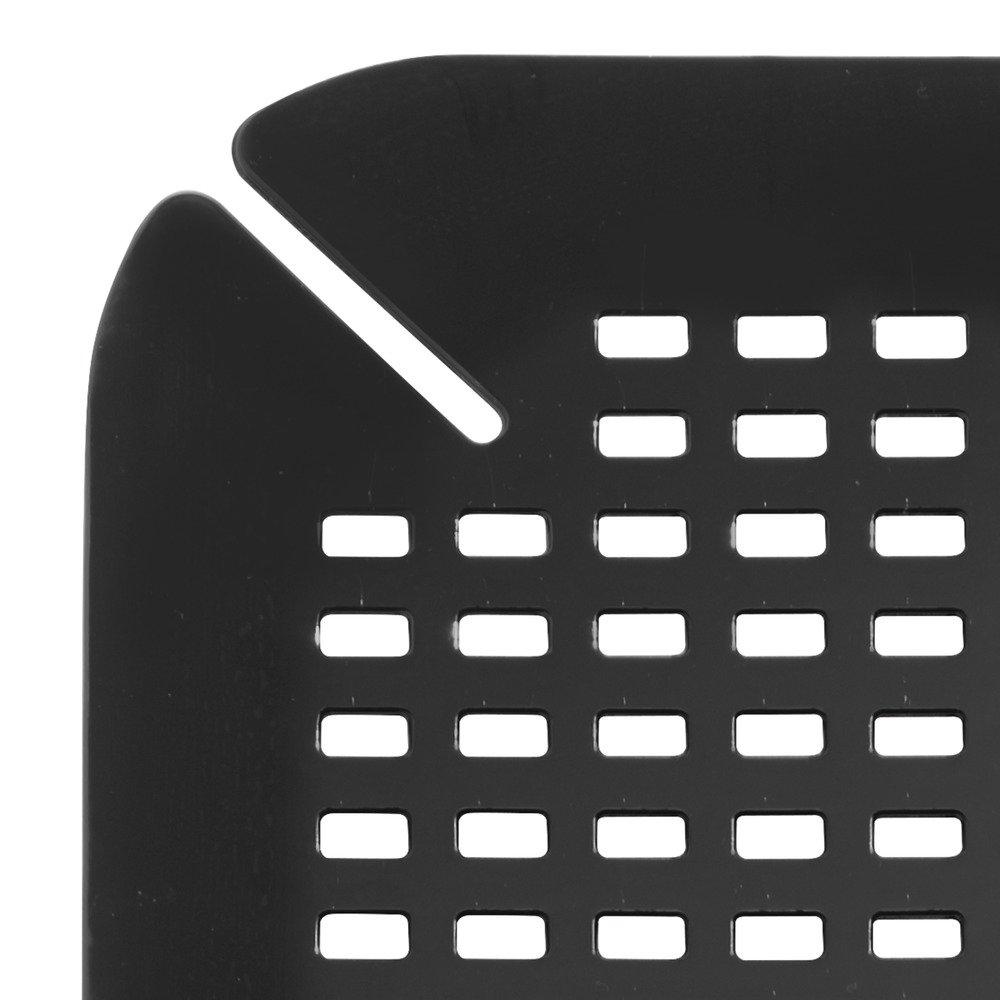 noir InterDesign Basic tapis /évier fond /évier en plastique PVC protection /évier pour lavabo
