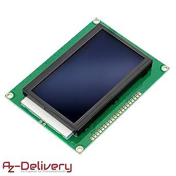 AZDelivery LCD Display 128 x 64 Pixel 12864 modulo de Pantalla con ...
