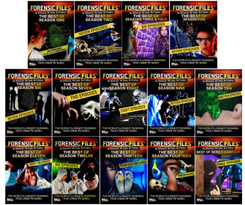 Forensic Files: The Best of All 14 Seasons - 137 Episodes - 39 DVD Collection ()