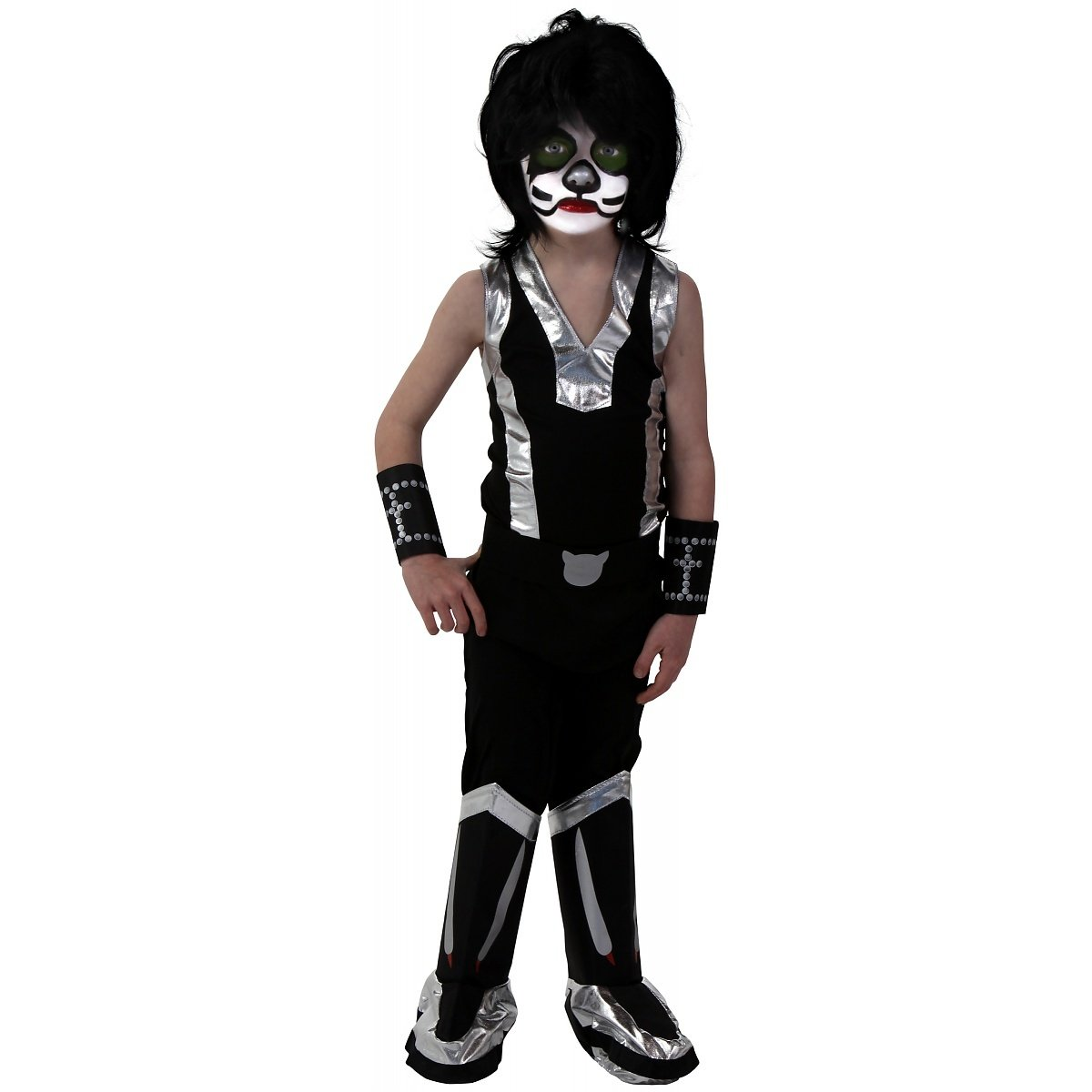 Boys' Screenprint Kiss Catman Costume