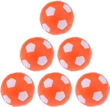 perfk 6 piezas bolas de repuesto Benzema de fútbol Futbolín ...