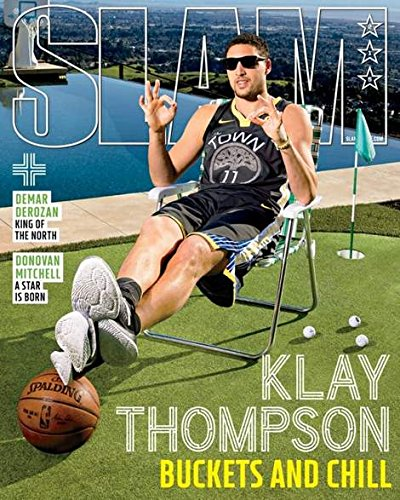 Slam Magazine (May/June 2018) Klay Thompson Cover