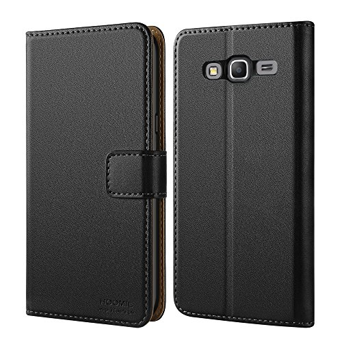Cheap Flip Cases Galaxy Grand Prime Case, HOOMIL Premium Leather Case for Samsung Galaxy Grand..