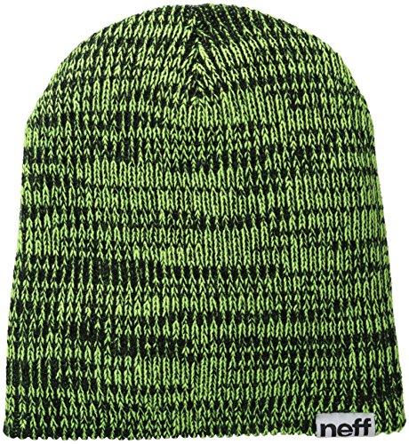 Black Unisex Única Adulto Gorros Slashy Beanies Green Neff Verde xHPwRUfxq