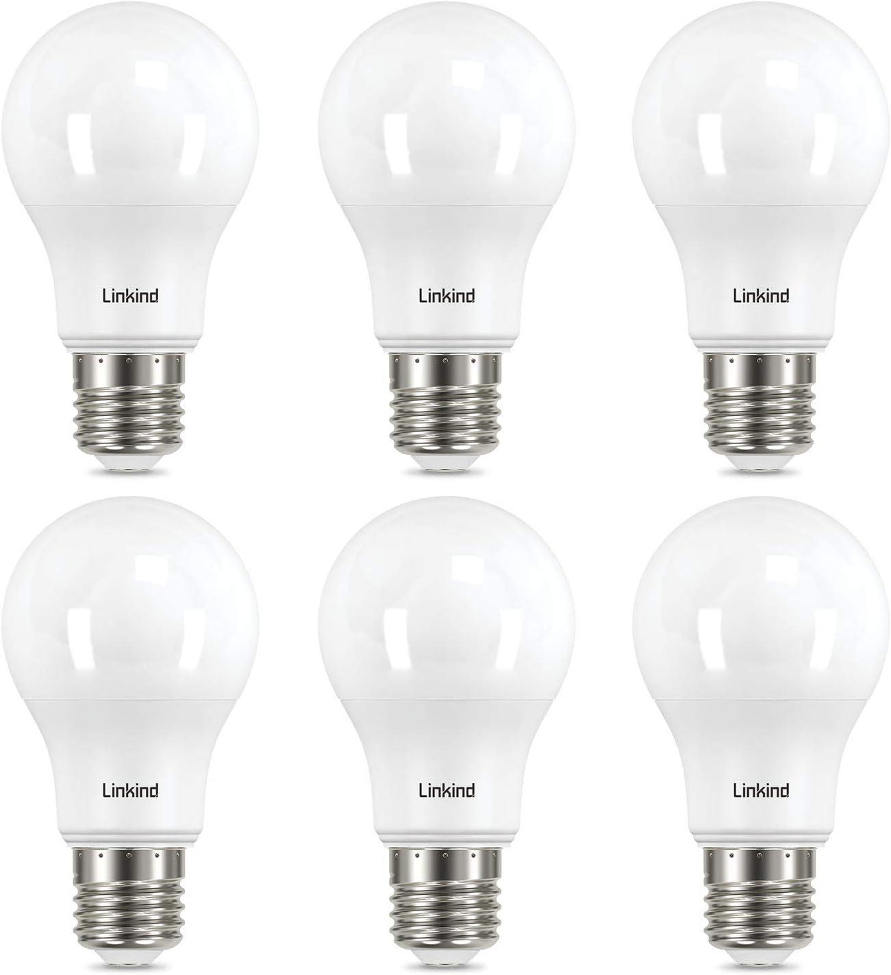 100W Gl/ühlampe ersetzt ERP 2700k Warmwei/ß 1521LM A60 Edison Birne CE-zertifiziert Linkind 3er-Pack 13W Dimmbar E27 LED Lampe
