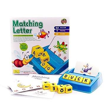 Juego de cartas y juegos de ortografía para niños con juegos ...