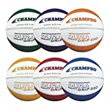 CHAMPRO Dura Grip 220 Basketball (Official) - 6 Pack