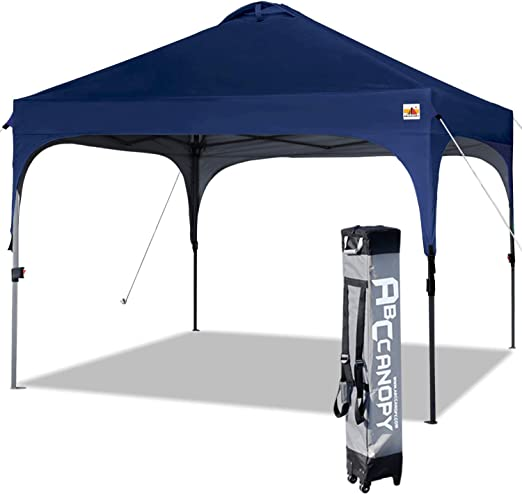 ABCCANOPY - Cenador 3 x 3 m, Resistente al Agua, Plegable, Azul Oscuro: Amazon.es: Jardín