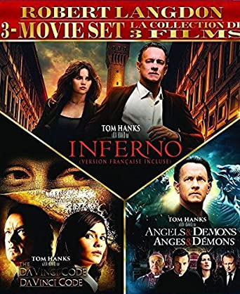 Amazon com: Robert Langdon 3-Movie Set (The Da Vinci Code