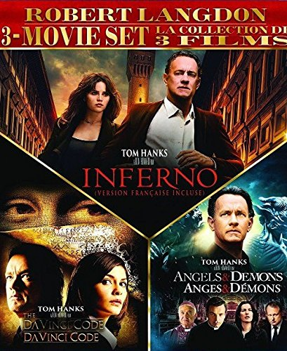 Robert Langdon 3-Movie Set (The Da Vinci Code / Angels & Demons / Inferno)