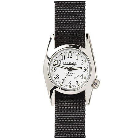 82163c263 Amazon.com: Bertucci 18017 Ladies M-1T WOMENS HIGHPOLISH Titanium Watch:  Health & Personal Care