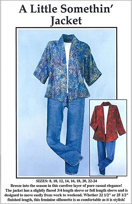 CNT Pattern Co A Little Somethin Jacket Pattern by CNT Patterns