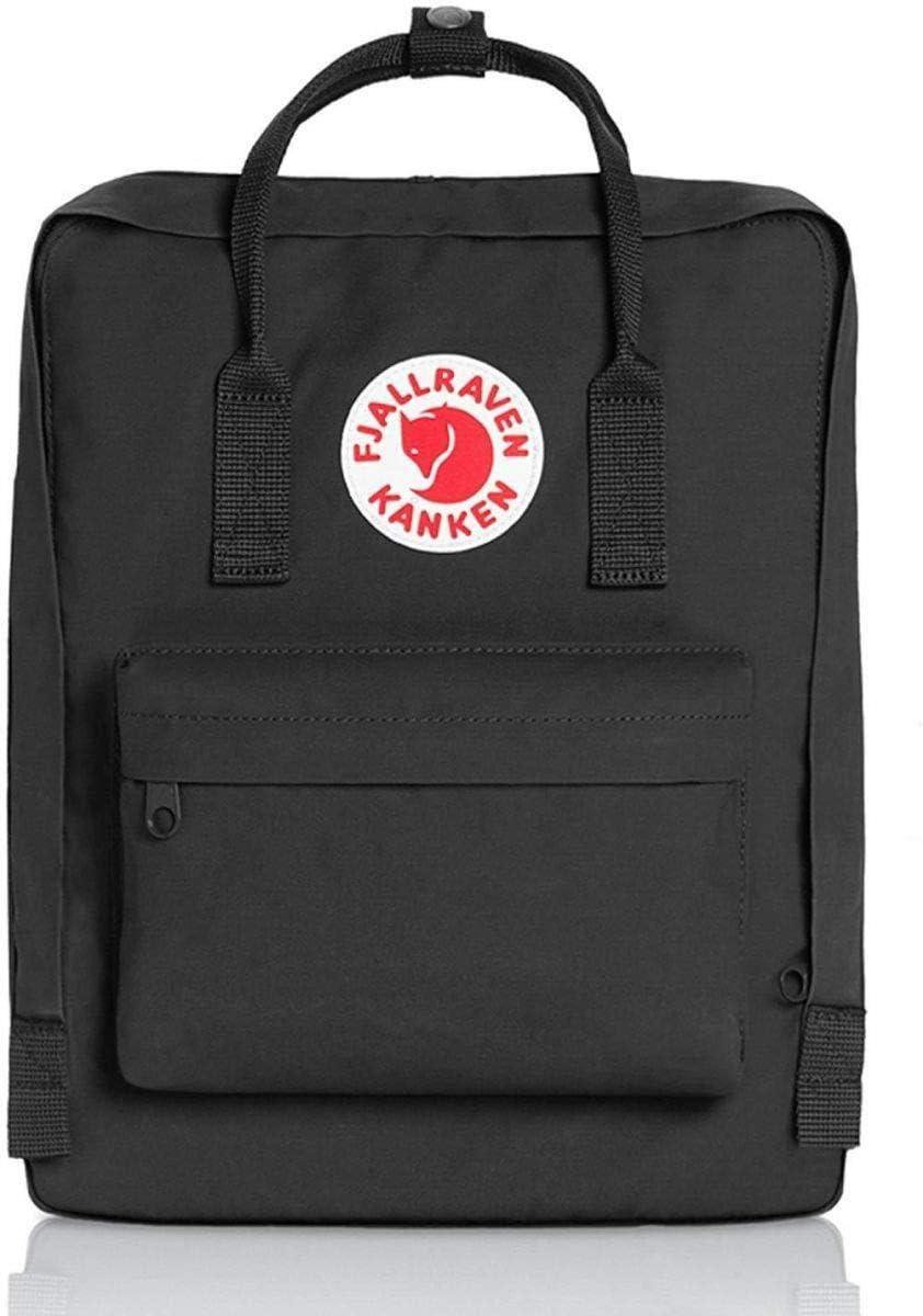Fjallraven - Kanken حقيبة ظهر مدرسية كلاسيكية مناسبة لكل يوم حقيبة ظهر عصرية