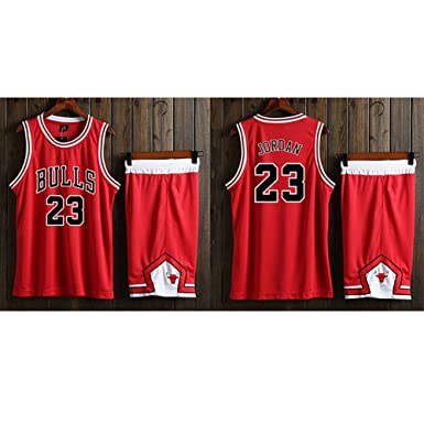 YUNY Bulls 23 Jordan - Uniforme de Baloncesto, Material de Secado ...