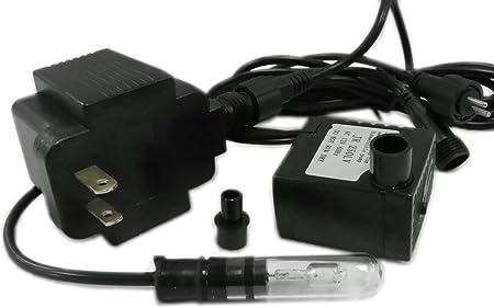 APJR600-2 Aquarium Small Submersible Fountain Pump w//2 prong plug 160 GPH