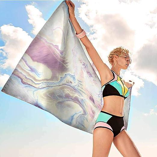 Toalla de playa Antonia Reed personalizada de mármol, estilo ...