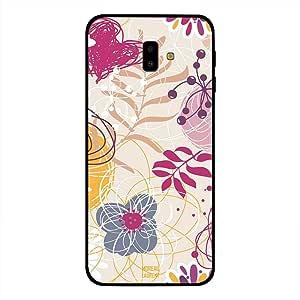 Samsung Galaxy J6 Plus Case Cover Mix Floral, Moreau Laurent Premium Design Phone Covers