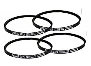 Hoover Wind Tunnel Self Propelled (4 Pack) Replacement Agitator V-Belt # H-38528034-4pk