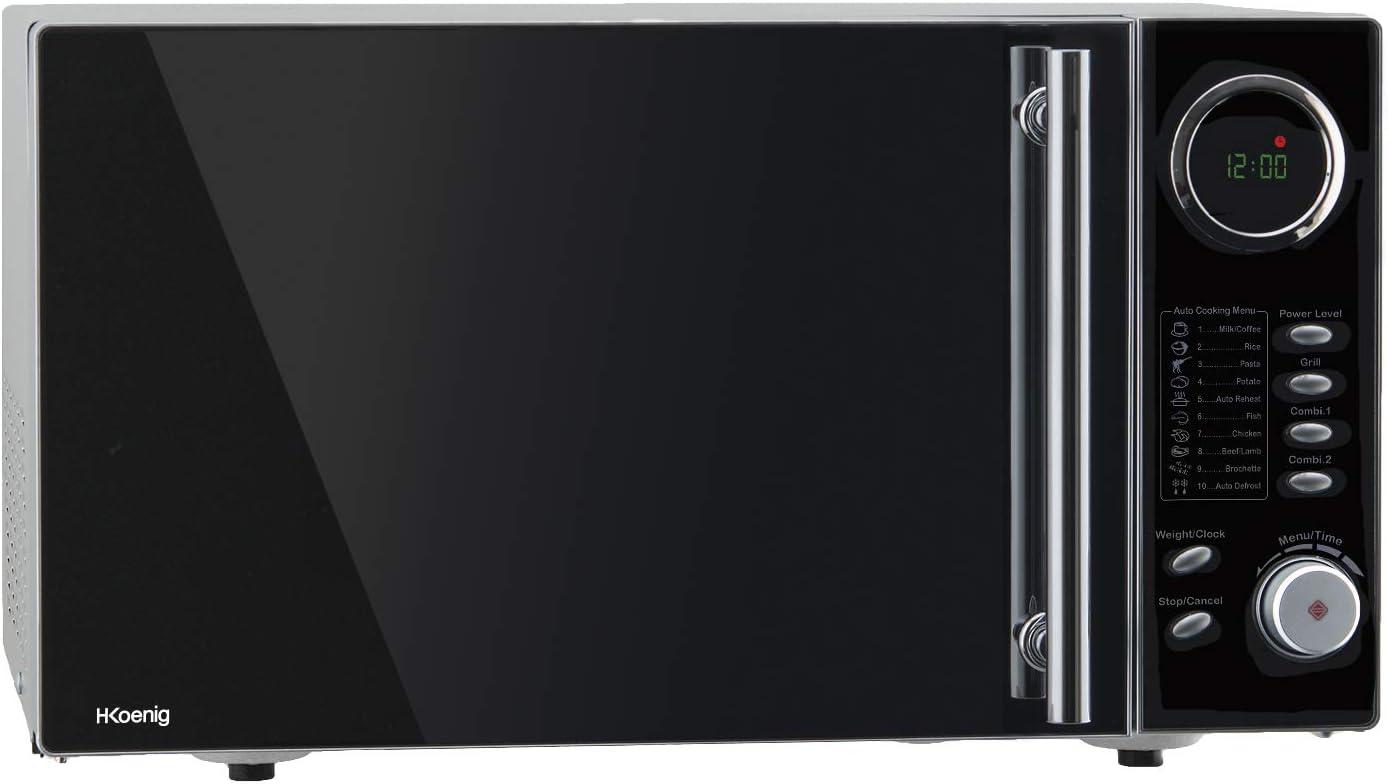 H.Koenig VIO9 Microondas con Grill, Potencia 900 W y Potencia ...