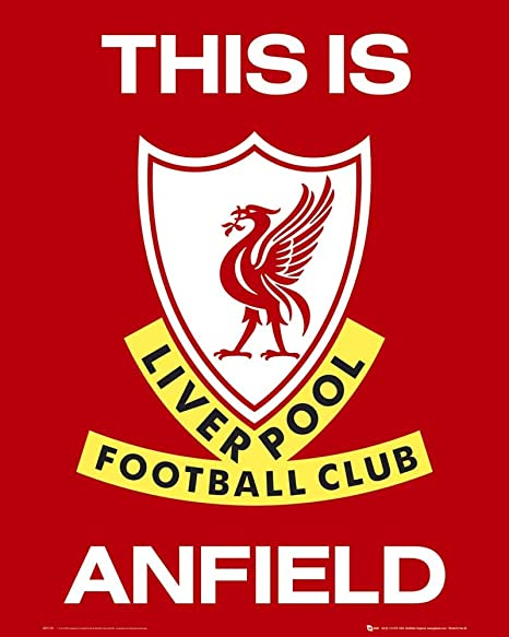 Amazon De Empireposter Fussball Liverpool Club Logo