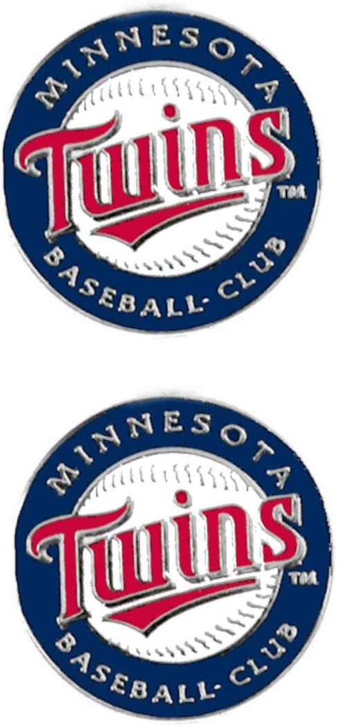 MLB Minnesota Twins Team Logo Post Earrings