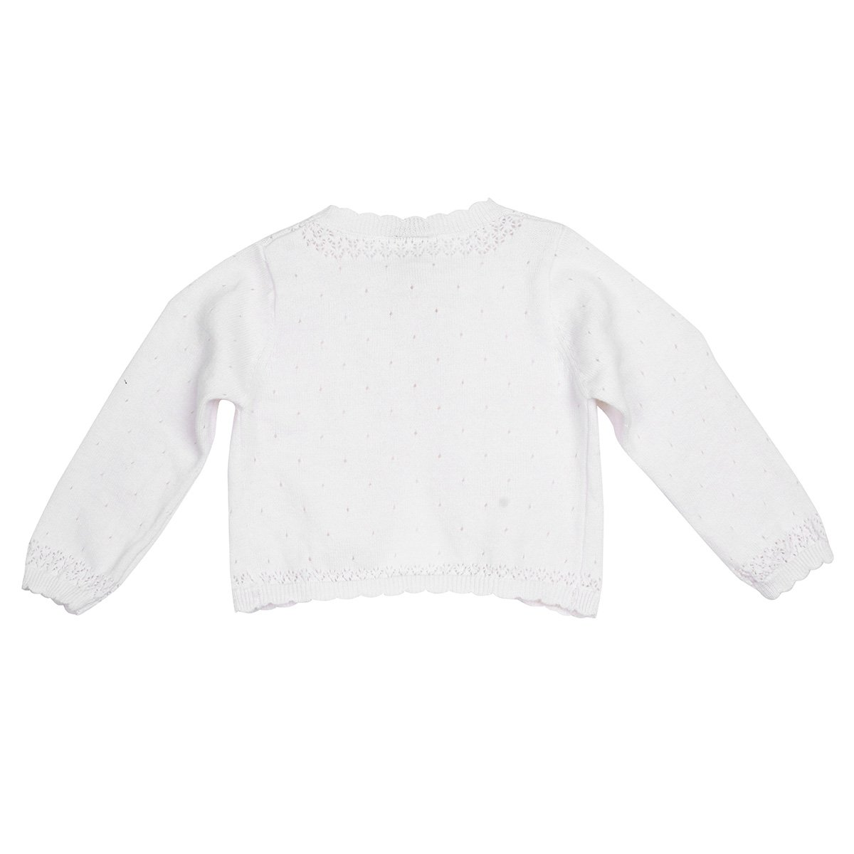 CHICTRY Infant Girls Lace Floral Knitted Ruffle Bolero Jacket Shrug Short Cardigan Dress Cover up