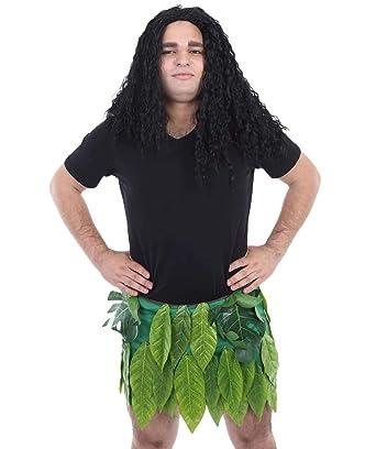 Disfraz de Isla Polinesiana Hawaiana Maui de Halloween para Hombre ...