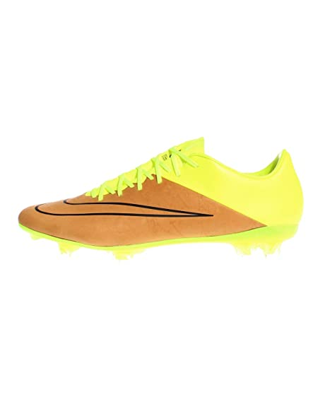 hot sale online 14dd2 ecf3f Nike Mercurial Vapor X LTHR FG Botas de fútbol, Hombre  Amazon.es  Zapatos  y complementos