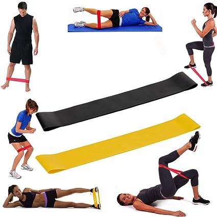 Correa Yoga Stretch Strap, 2PCS resistente ejercicio correas ...
