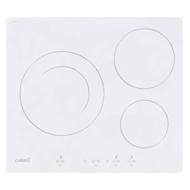 CATA IB 6203 WH Integrado Con - Placa (Integrado, Con placa de inducción, Blanco, 1200 W, Alrededor, 16 cm)