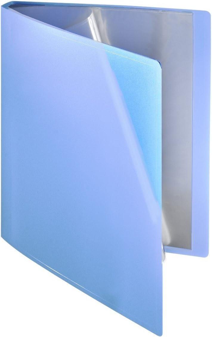 1/St/ück Flexibles Sichtbuch 10/H/üllen A4/PP blau