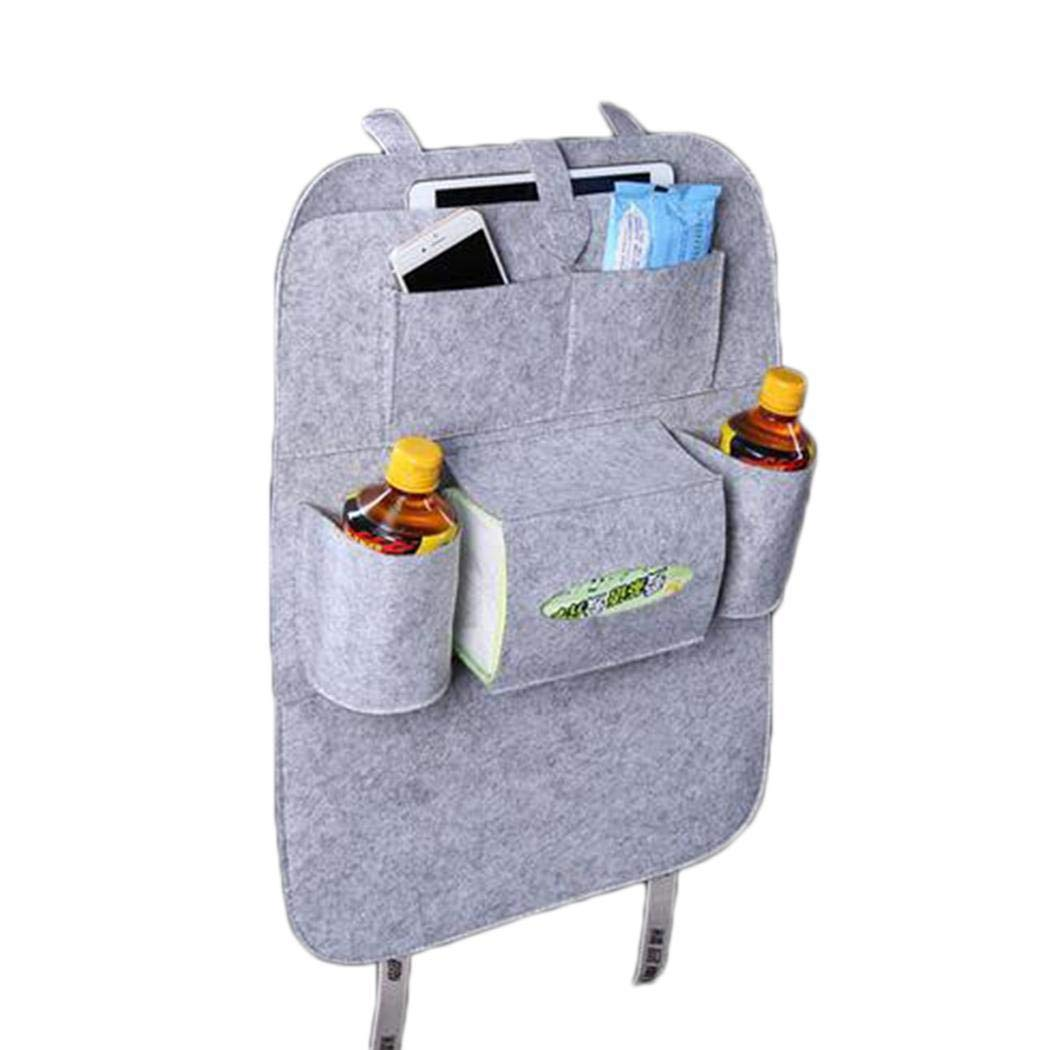 katem Car Seat Storage Bag Auto Multi-Pocket Felt Covers Organizer Storage Holder Stowing /& Tidying