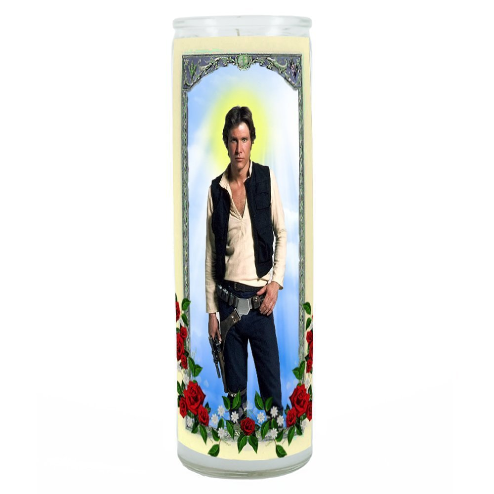 Han Solo Prayer Candle