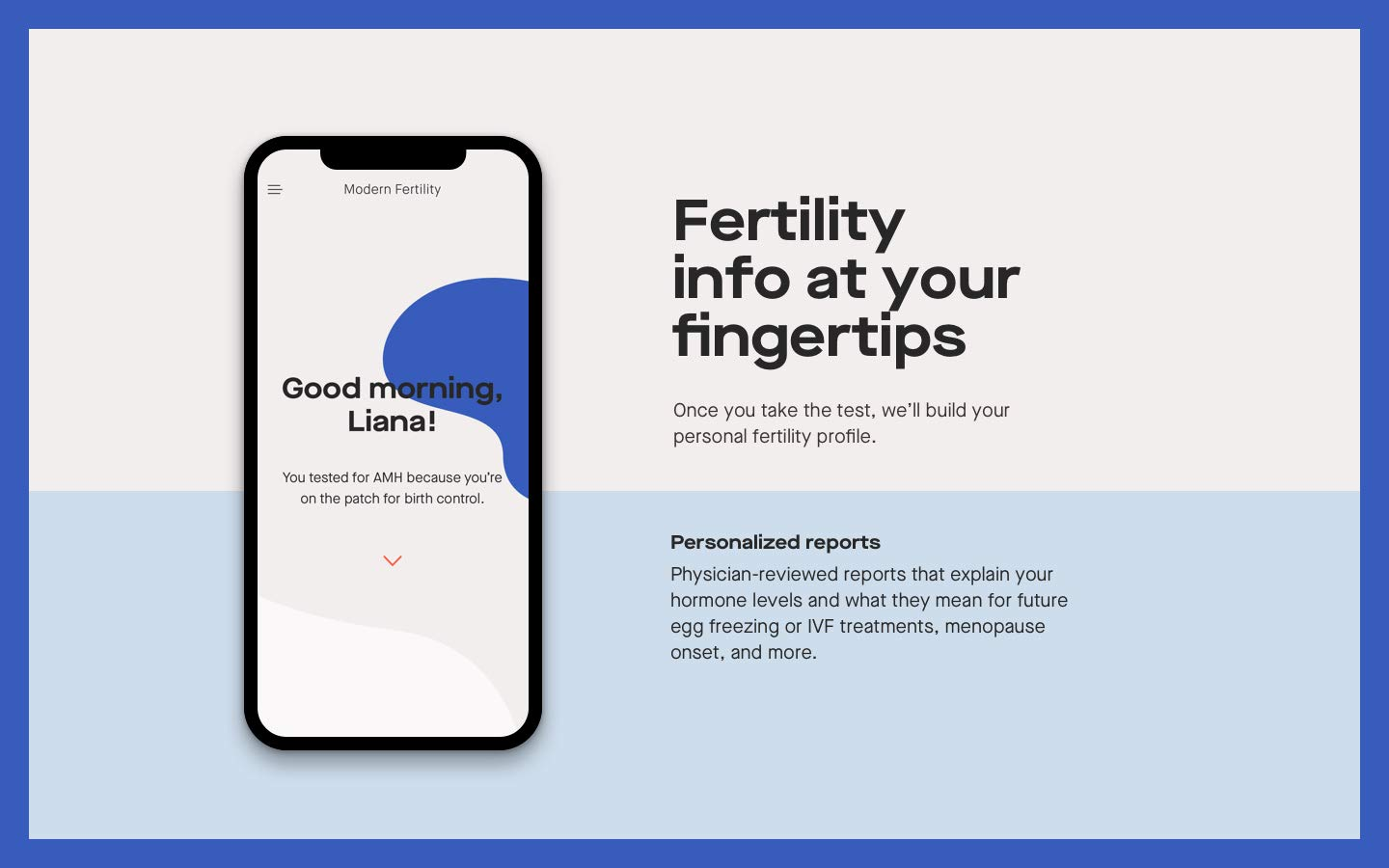 Modern Fertility Test - Women's Health Hormone Test You Can Take at Home - Not Available NY, NJ, RI by Modern Fertility (Image #8)