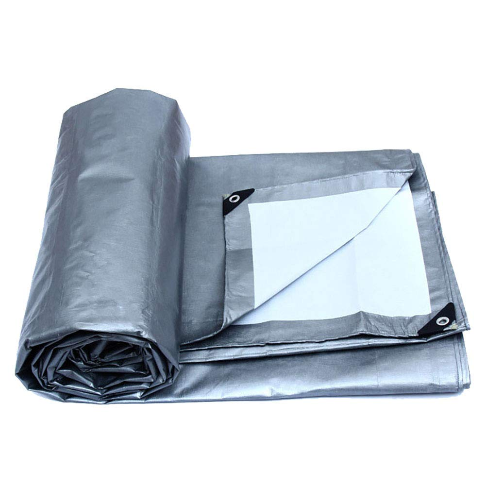 19-yiruculture 屋外のテントの防水防水シートの頑丈な穴があいた防水シートの屋外の防水布 (サイズ : 12×10m)  12×10m