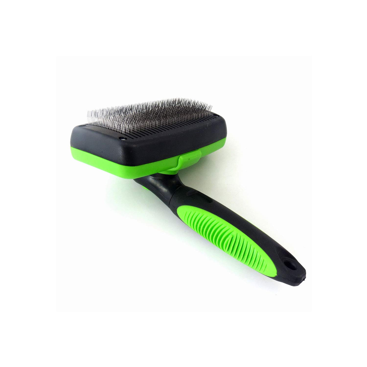 TJMWL Retractable Dog Hair Hair Removal Brush Smooth Finish Beauty Brush Dog Hair Hair Removal Tool Suitable for Large, Medium and Small pet Hair Removal Device,Green