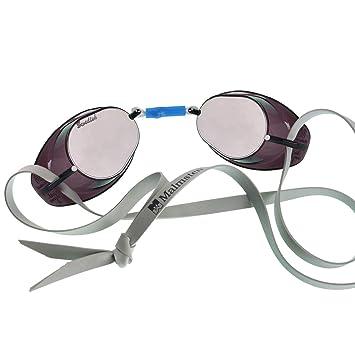1a80bbe60 Malmsten Suecas Metallic Gafas de Natación, Unisex, Plata: Amazon.es:  Deportes y aire libre