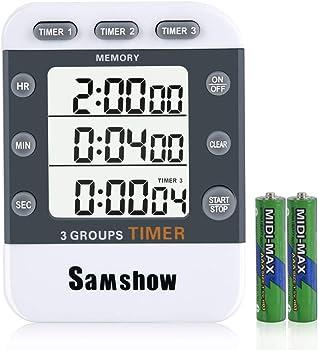 Samshow 3 Kitchen Timer