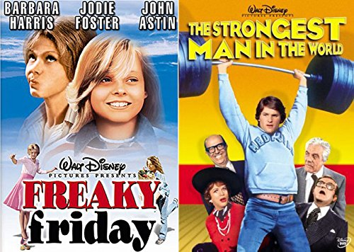 Walt Disney Pictures Freaky Friday Movie + The Strongest Man in the World Family DVD - Story Of Robinson Mall