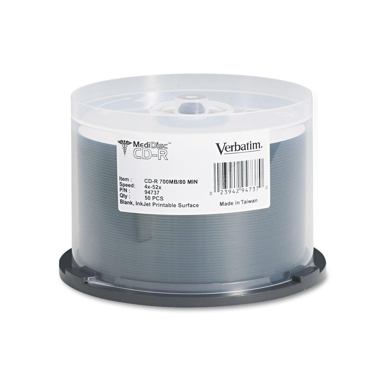 VER94737 - Medical Grade CD-R Discs
