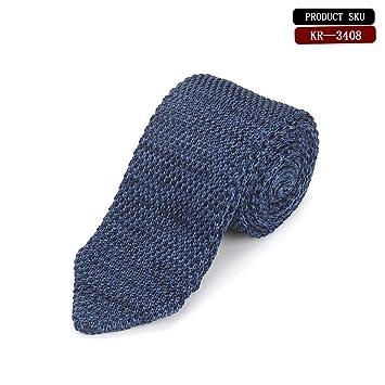 LXTMWSJ Corbata 8 Colores Hombres de Moda corazón de Punto Corbata ...